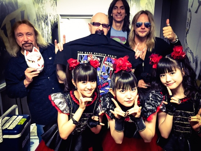 BABYMETAL×JUDAS PRIEST (c)Amuse Inc.