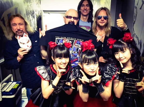 BABYMETAL×JUDAS PRIEST (c)Amuse Inc.(okmusic UP's)