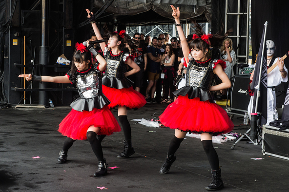 5月16日@「BABYMETAL WORLD TOUR 2015」 (c)Amuse Inc.(okmusic UP's)