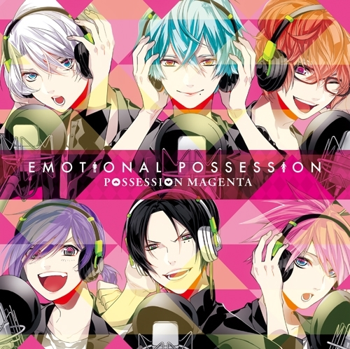 「POSSESSION MAGENTA」主題歌シングル「EMOTIONAL POSSESSION」ジャケット画像 (C) HuneX / COMFORT