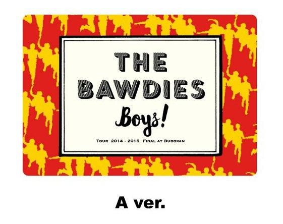 THE BAWDIES マグネットシート(A ver.) (okmusic UP's)
