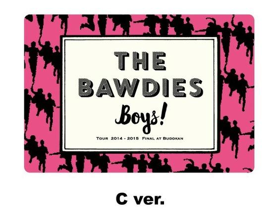 THE BAWDIES マグネットシート(C ver.) (okmusic UP's)