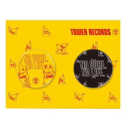 ペニュ × TOWER RECORDS 缶バッジ 2 個セット (okmusic UP's)