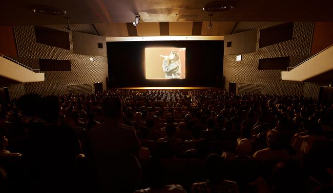 フィルム・コンサート会場内写真(あの微笑を忘れないで)