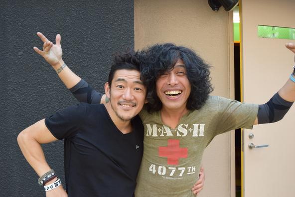 TOSHI-LOW (BRAHMAN/OAU)×タイジ (okmusic UP's)