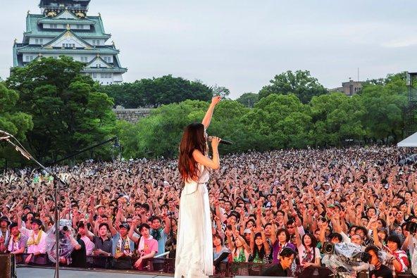 5月30日(土)@大阪城西の丸庭園 (okmusic UP's)