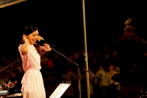 広島・嚴島神社でワンマンライブを開催した坂本真綾