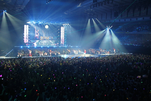 "「2PM ARENA TOUR 2015 ""2PM OF 2PM""」@北海道立総合体育センター北海きたえーる (okmusic UP's)"
