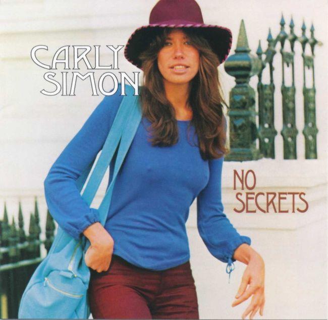 『No Secrets』のジャケット写真
