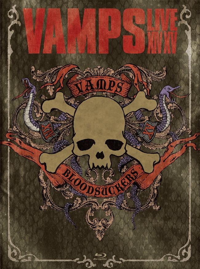 『VAMPS LIVE 2014-2015』【初回限定盤A】(Blu-ray)