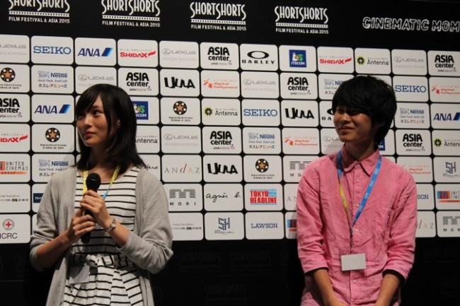 松本花奈(左)と竹友あつき(右)