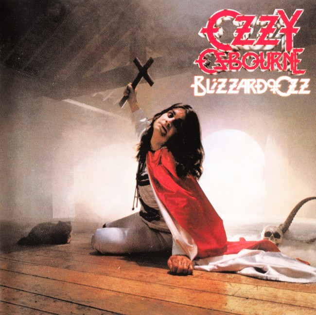 Ozzy Osbourne『BLIZZARD OF OZZ』のジャケット写真