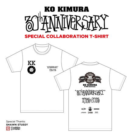 スペシャルコラボレーションTシャツ (okmusic UP's)