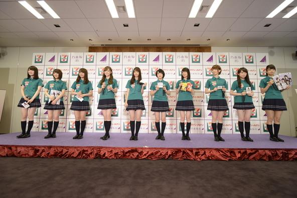 乃木坂46とセブン-イレブン・ジャパンのコラボ (c)乃木坂46LLC(okmusic UP's)