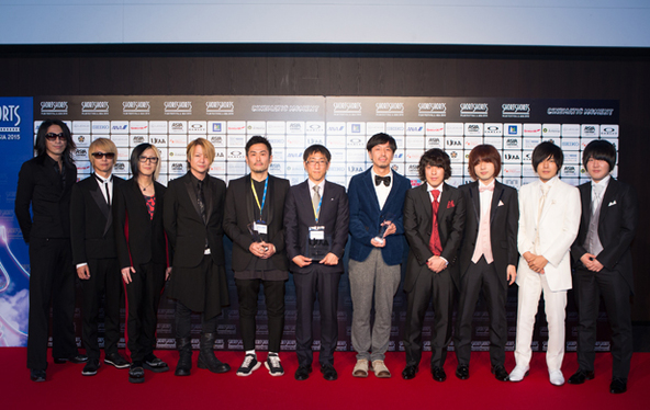 GLAY@「Short Shorts Film Festival &Asia 2015 AWARD」 (okmusic UP's)