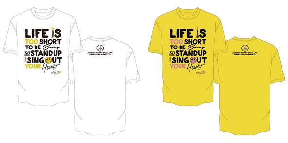 「10人Tシャツ企画」May J. (okmusic UP's)