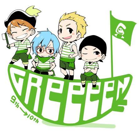 GReeeeN 新イラスト (okmusic UP's)