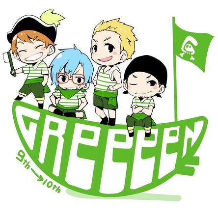 GReeeeN新插图(okmusic UP's)