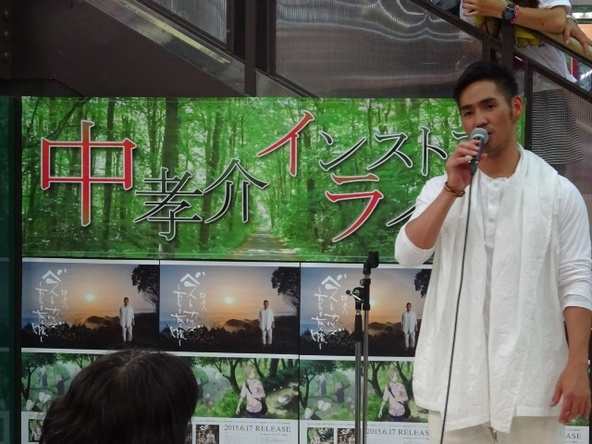 6月17日@地元・奄美大島のTSUTAYA名瀬店 (okmusic UP\'s)