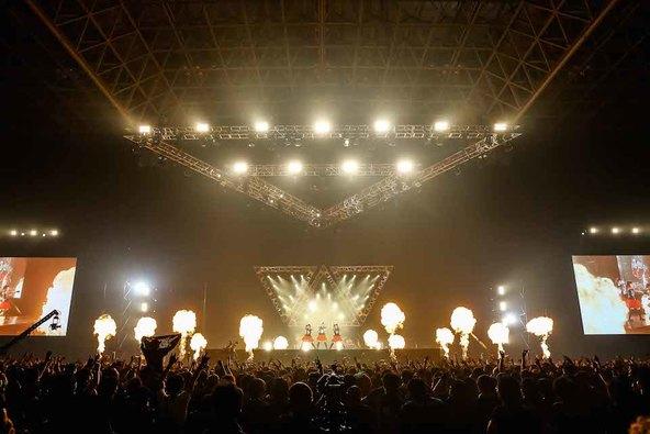 6月21日@幕張メッセ 国際展示ホール (okmusic UP's)