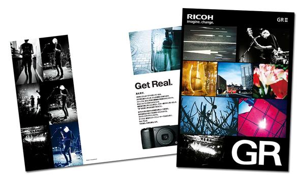 デジタルカメラ「GRII」カタログ&ポスター (okmusic UP's)