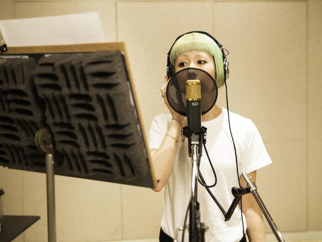 木村カエラ 「EGG」レコーディング時写真