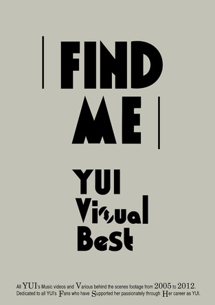 Blu-ray&DVD『FIND ME YUI Visual Best』【通常盤】 (okmusic UP's)
