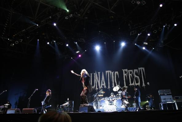 6月28日(日)@『LUNATIC FEST.』【D'ERLANGER】 (okmusic UP's)