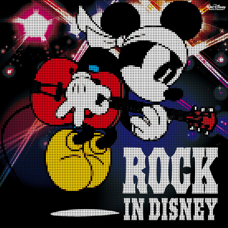 アルバム『ROCK IN DISNEY』 (c)2015 Disney(okmusic UP's)