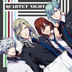オリコンシングルランキングで初登場3位を獲得した、QUARTET NIGHTのシングル「エボリューション・イヴ」ジャケット (C)UTA☆PRI-R PROJECT (C)早乙女学園