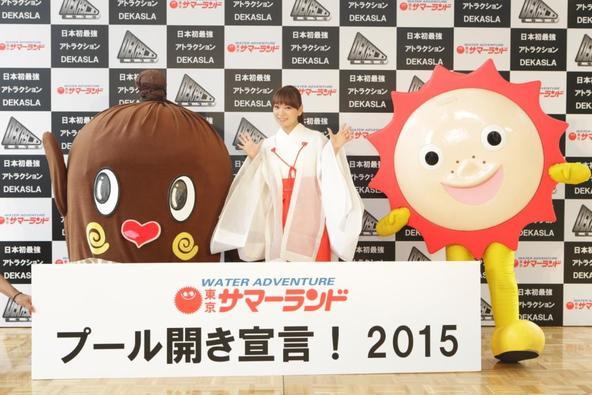 6月29日(月)@「東京サマーランド プール開き宣言!2015」 (okmusic UP\'s)