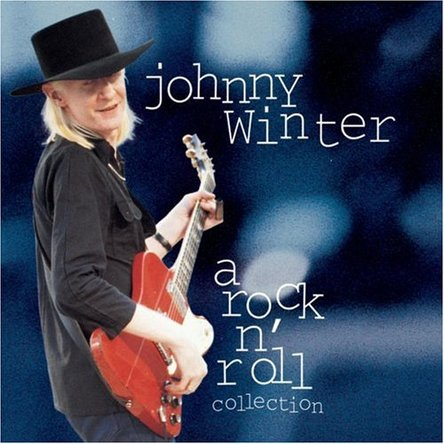 Johnny Winter『A Rock\'n\'roll Collection』のジャケット写真 (okmusic UP\'s)