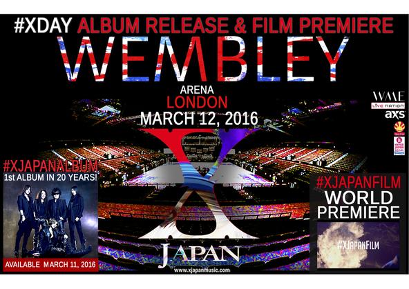 X JAPAN、3月11日に世界同時発売決定 (okmusic UP's)