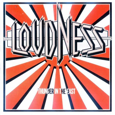 LOUDNESS『Thunder In The East』のジャケット写真 (okmusic UP's)
