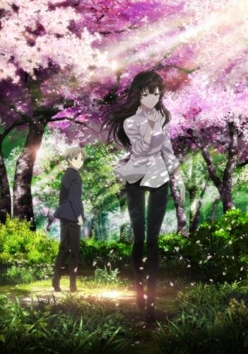 、2015年10月より放送開始予定のTVアニメ「櫻子さんの足下には死体が埋まっている」キービジュアル (C)2015 太田紫織・エブリスタ/KADOKAWA/『櫻子さん』製作委員会