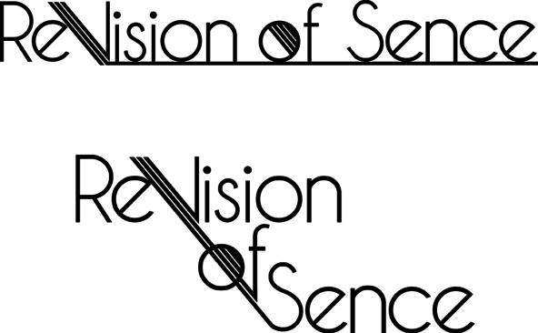 ReVision of Sence ロゴ (okmusic UP's)