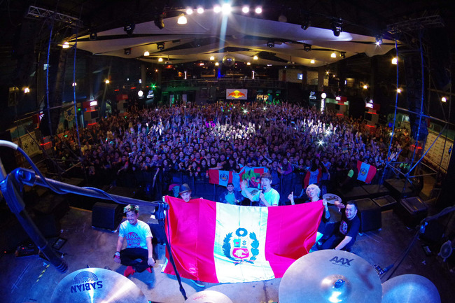 7月12日@Centro de Convenciones Barranco Arena