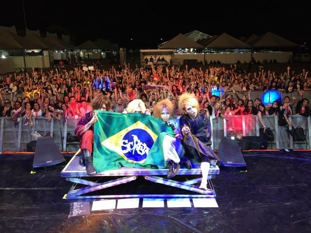 7月10日(現地時間)@ブラジルサンパウロでの『Anime Friends2015』