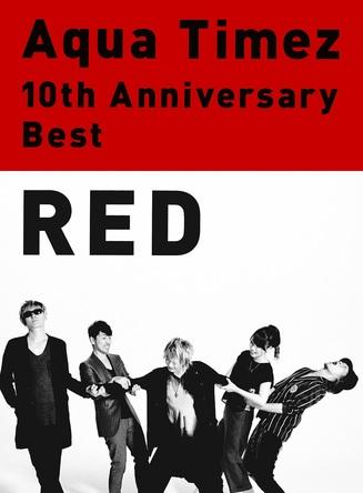 アルバム『RED』【team AQUA限定盤】(2CD+DVD) (okmusic UP's)