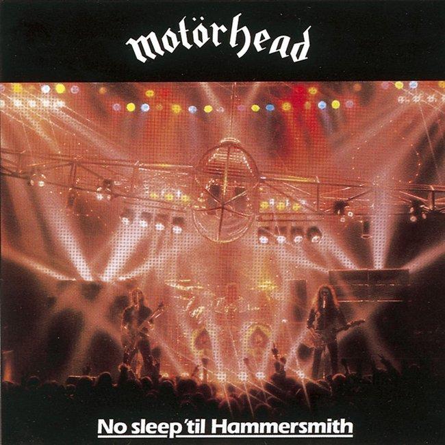 Motörhead『No Sleep 'til Hammersmith(邦題:極悪ライヴ』のジャケット写真