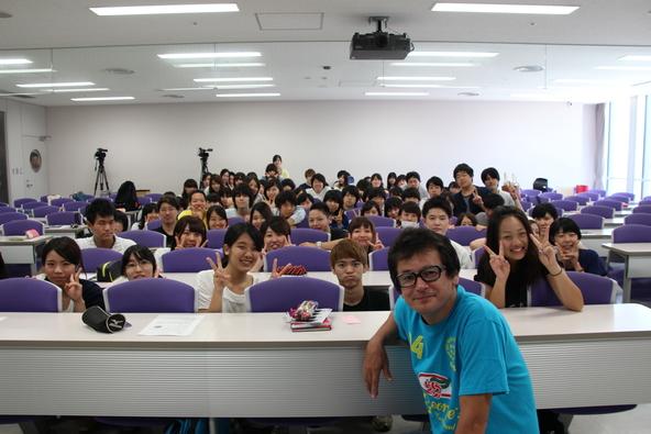 7月21日(火)、ジョージ・ウイリアムズが日本工学院にてサプライズで特別講義 (okmusic UP's)