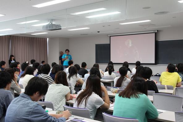 7月21日(星期二)乔治·威廉姆斯在日本技术学院惊喜特别讲座(okmusic UP's)