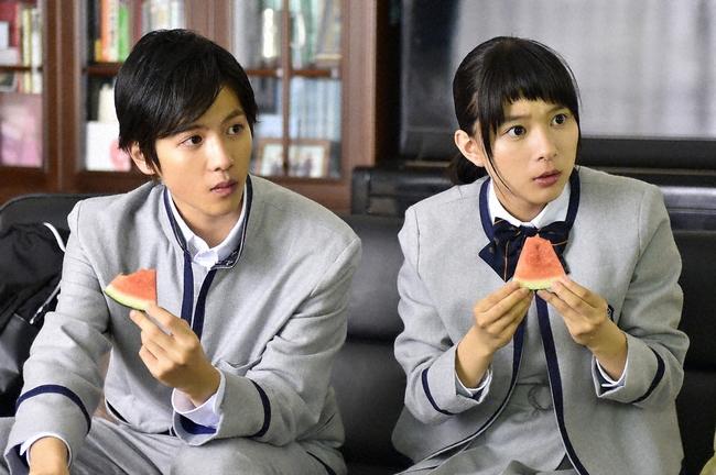 「表参道高校合唱部!」 香川真琴(芳根京子)と夏目快人(志尊淳) (C)TBS
