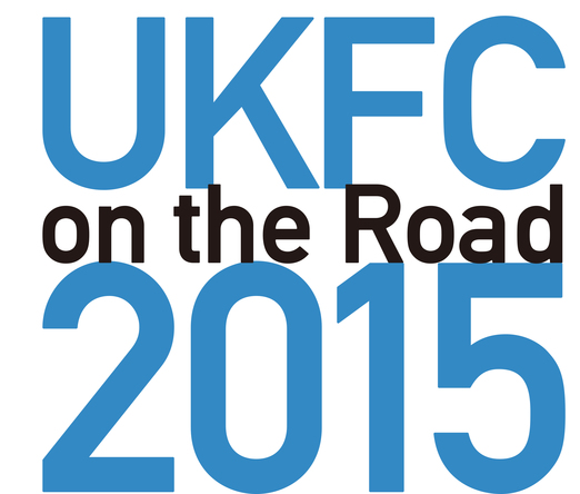 『UKFC on the Road 2015』ロゴ (okmusic UP\'s)