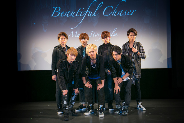 「Beautiful Chaser」MV 完成披露試写会 (okmusic UP\'s)
