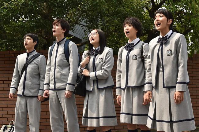 """「表参道高校合唱部!」第2話は、真琴(芳根京子)ら合唱部が「翼をください」合唱し、不登校の合唱部員との""""心""""がつながる回だった。 (C)TBS"""