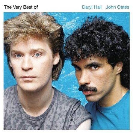 『 The Very Best of Daryl Hall & john oates』のジャケット写真 (okmusic UP\'s)