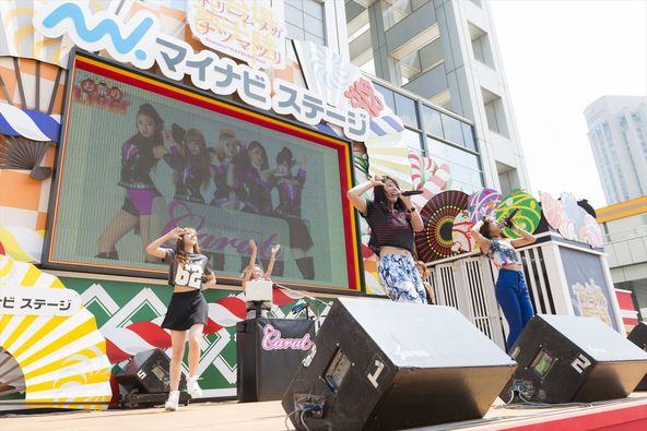 7月28日@「東京・お台場夢大陸マイナビステージお祭りLIVE!」 (okmusic UP's)