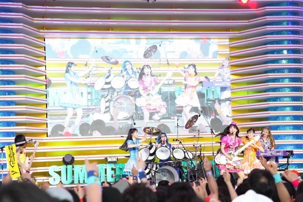 """7月30日(星期四)@""""Odaiba Yume Continental-Dream Mega Natsu Matsuri-'Mezamashi Live'""""(okmusic UP's)"""