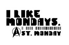 『I Like Mondays. 1st Monday.』ロゴ (okmusic UP's)